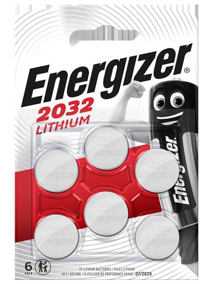 Литиеви батерии CR2032 Energizer ECR2032 - 3V - 5B