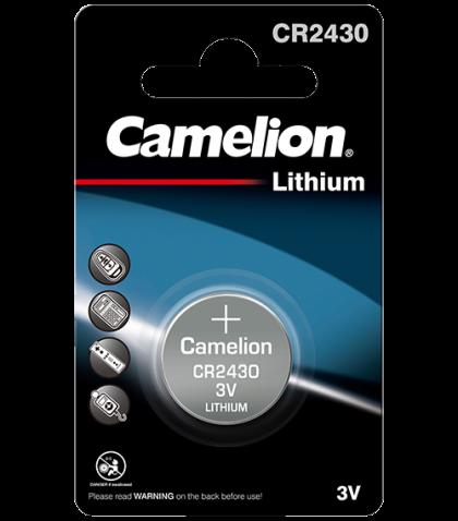Литиева батерия CR2430 Camelion CR2430 - 3V