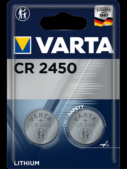 Литиеви батерии CR2450 Varta CR2450 - 3V