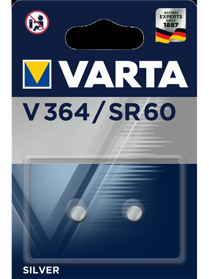 Батерии за часовник 364 V364 Varta SR621SW - 1.55V