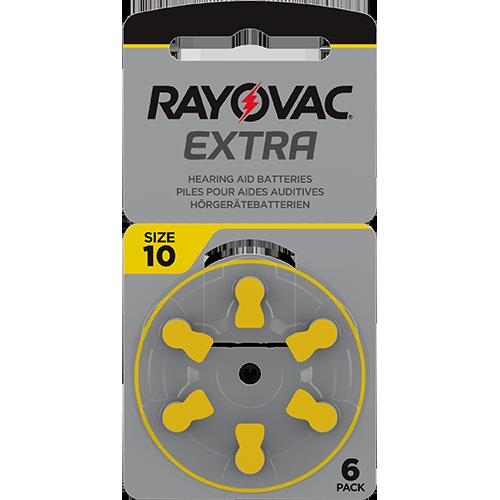 Батерии за слухов апарат 10 - Rayovac Extra Advanced