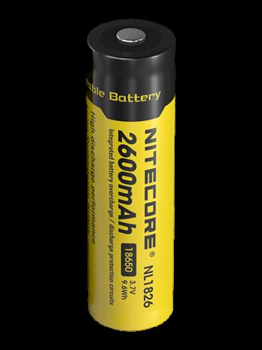 Батерия 18650 - Li-Ion 3.6V 2600 mAh + PCB - Nitecore