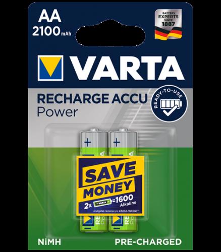 Акумулаторни батерии АА Varta Ready2Use AA - 2100 mAh