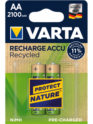 Акумулаторни батерии АА Varta Ready2Use AA - 1600 mAh