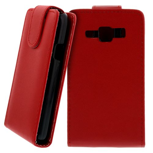 FLIP калъф за Samsung Galaxy Xcover GT-S5690 Red (Nr 7)