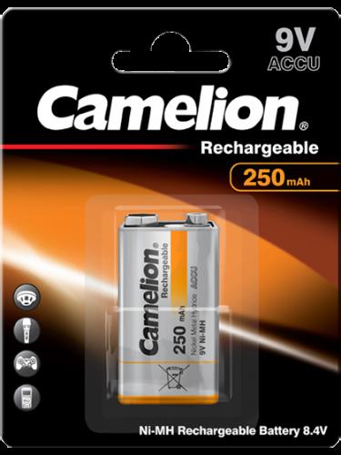 Акумулаторна батерия 9V Camelion 9V - 250 mAh