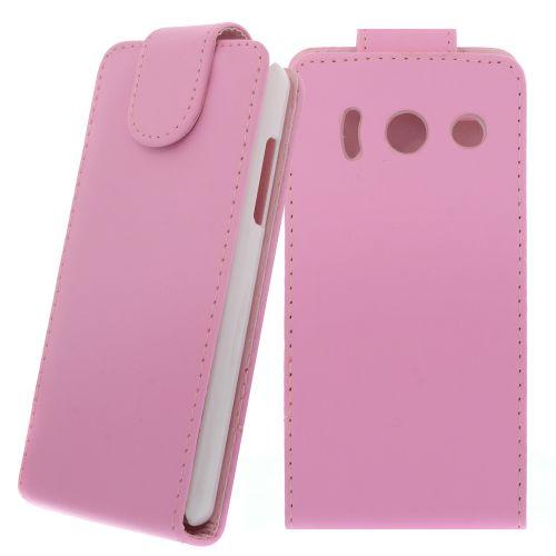 FLIP калъф за Huawei Ascend Y300 Pink