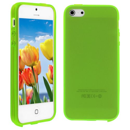Silicon Case for iPhone 5S/5G Neon Green