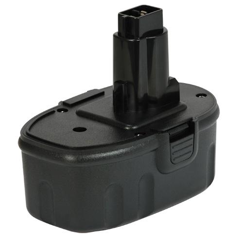 Батерия за винтоверт Black&Decker A9277 A9282 18V 2500 mAh