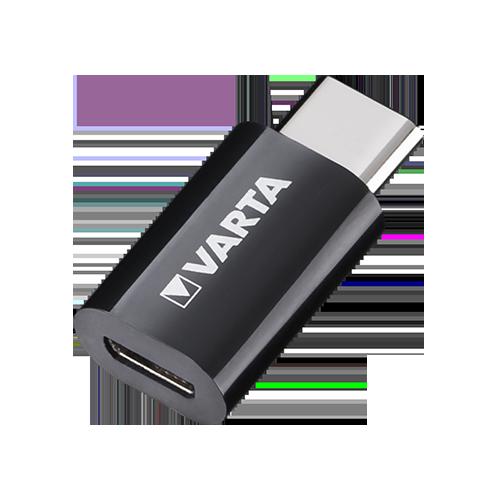 Адаптер за зареждане от  USB към USB Type C 3.0А Varta