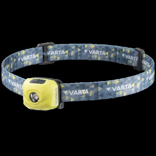 Акумулаторен фенер за глава Varta Outdoor Sports H30R - лайм