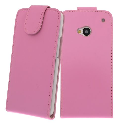 FLIP калъф за HTC One M7 Pink (Nr 13)
