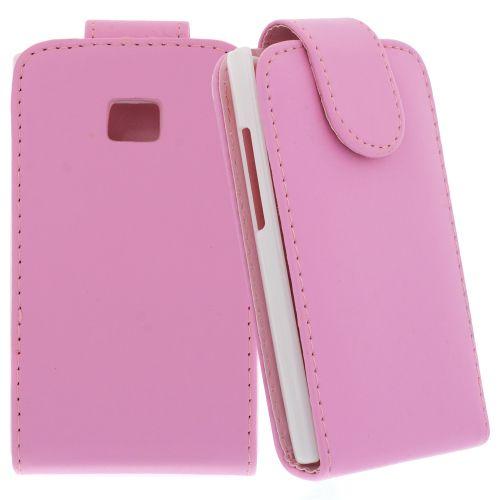 FLIP калъф за LG E400 Optimus L3 Pink (Nr 13)