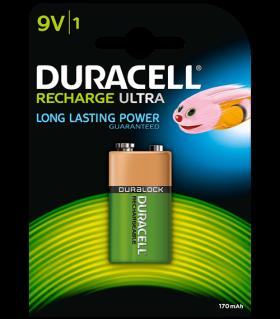 Акумулаторна батерия 9V Duracell 9V - 170 mAh