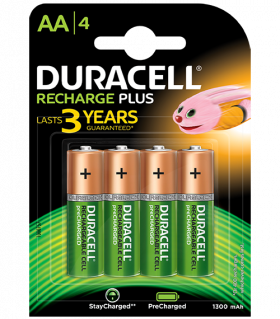 DURACELL Stay Charged HR6 AA 1300mAh BL4