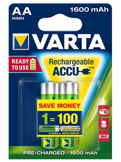 Varta Ready2Use AA 1600mAh BL2