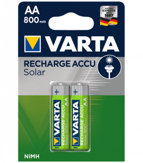 Акумулаторни батерии AA Varta Solar AA - 800 mAh