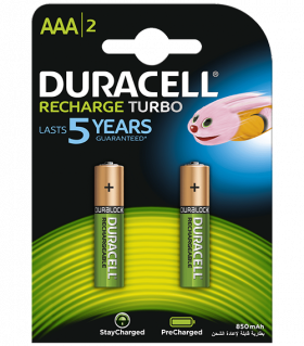 Акумулаторни батерии AAA Duracell Stay Charged AAA - 850 mAh