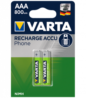 Акумулаторни батерии AAA Varta T398 Phone AAA - 800 mAh