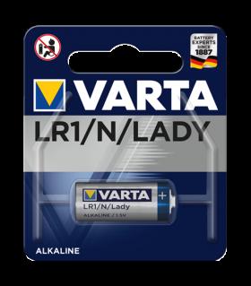 Алкална батерия LR1 - MN9100 Varta LR1 - N 1.5V