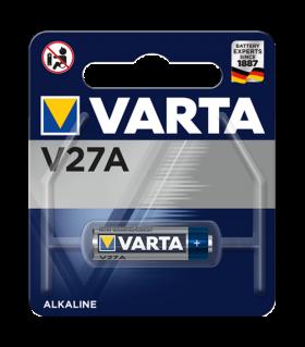 Алкална батерия MN27 Varta V27A - А27 12V