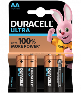 Duracell Ultra Power MX1500 AA BL4