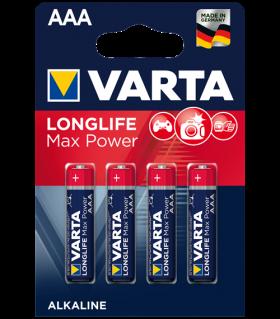 Varta Max Tech AAA BL4