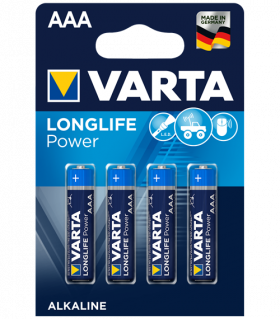 Алкални батерии ААА Varta Power AAA