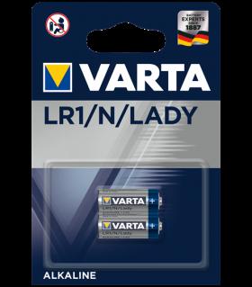 Алкални батерии LR1 - MN9100 Varta LR1 - N 1.5V