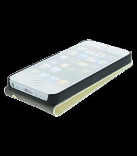 Калъф за телефон iPhone 5 croco beige