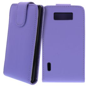 FLIP калъф за LG P700 Optimus L7 Light Purple