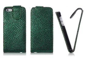Калъф за телефон iPhone 5 Strass Look Green