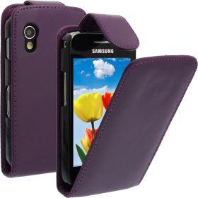 FLIP калъф за Samsung Galaxy ACE GT-S5830 Purple (Nr 33)