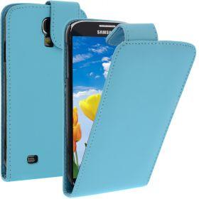 FLIP калъф за Samsung Galaxy S4 i9500 Hell Blue (Nr 19)