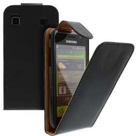 FLIP калъф за Samsung Galaxy S1 i9000 Black