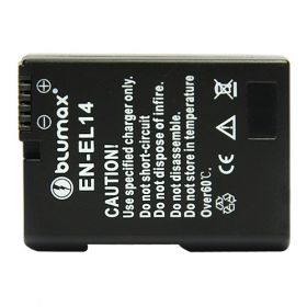 Blumax батерия за Nikon EN-EL14 decoded 950mAh