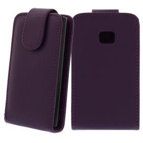 FLIP калъф за LG E400 Optimus L3 Purple