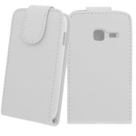 FLIP калъф за Samsung Galaxy Ace Duos GT-S6802 White (Nr 15)