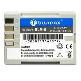 Blumax батерия за Olympus BLM-5 BLM5 1550mAh