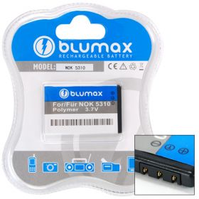 Blumax Repl.Bat. for Nokia 5310/6700 Slide BL-4CT 900mah