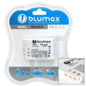 Blumax батерия за Nikon EN-EL8 Li-Ion 700mAh