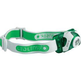 Челник за глава LED LENSER SEO3 - зелен