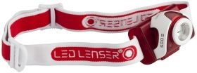 Челник за глава LED LENSER SEO5 - червен