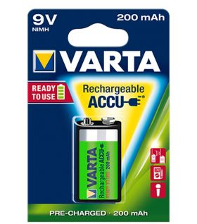 Varta Ready2Use 9V 200mAh BL1