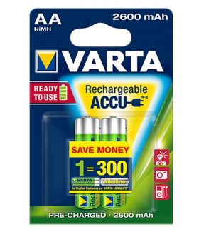 Акумулаторни батерии Varta Ready2Use AA 2600mAh 2бр.