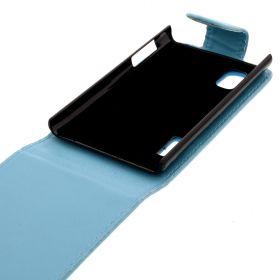Калъф за телефон LG E610 Optimus L5 light Blue (Nr:19)
