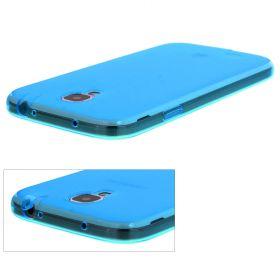 Силиконов калъф за Samsung Galaxy S4/i9500 Light Син