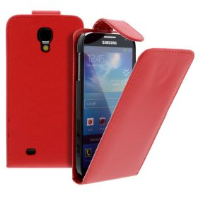 Flip Case for Samsung Galaxy S4/i9500 Red (Nr:7)