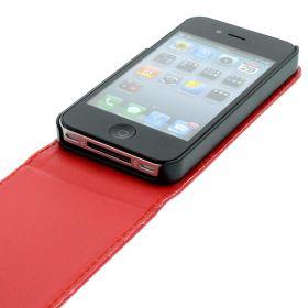 Калъф за телефон iPhone 4/4S Red (Nr:7)