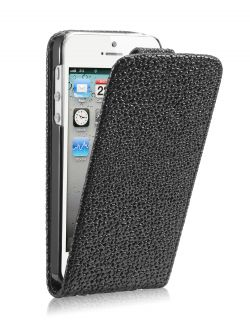 Калъф за телефон iPhone 5 Strass Look Black